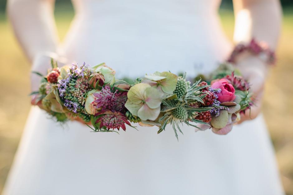 Blüten Haarkranz