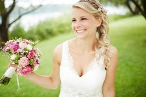 Romantischer Brautstrauß Hannover