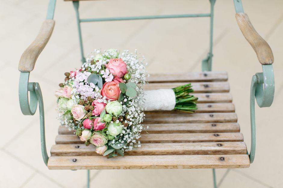 Sommer Brautstrauß