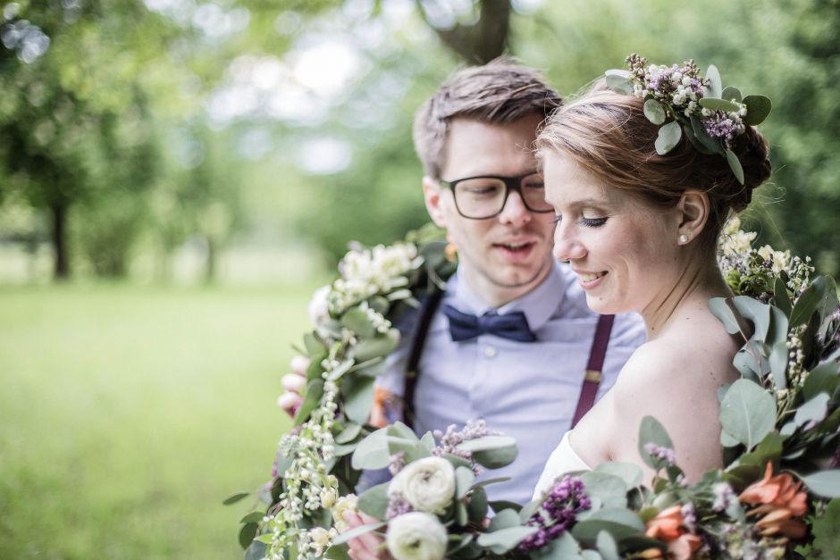 Blütengirlande Hochzeit