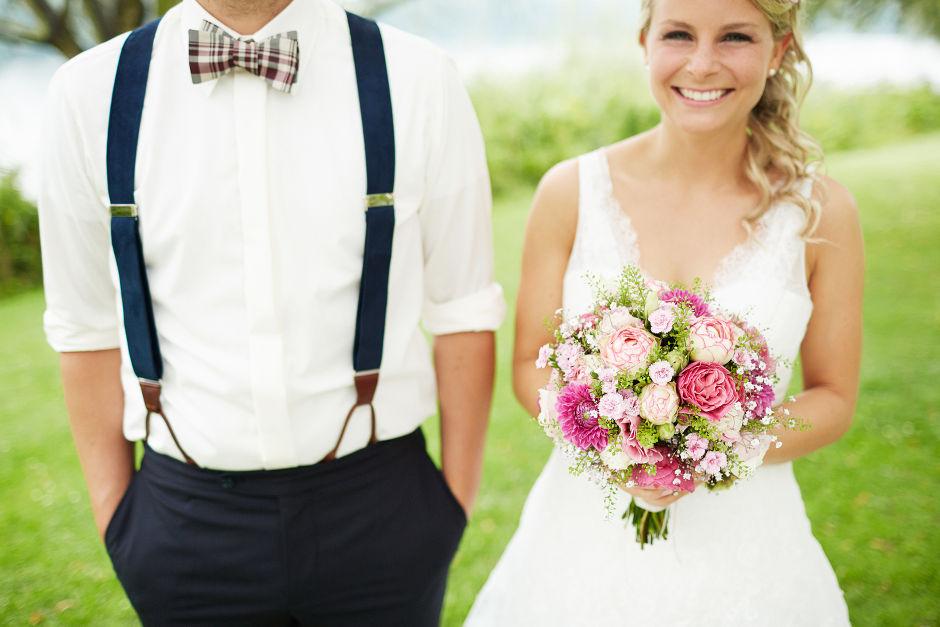Hochzeitsblumen pink