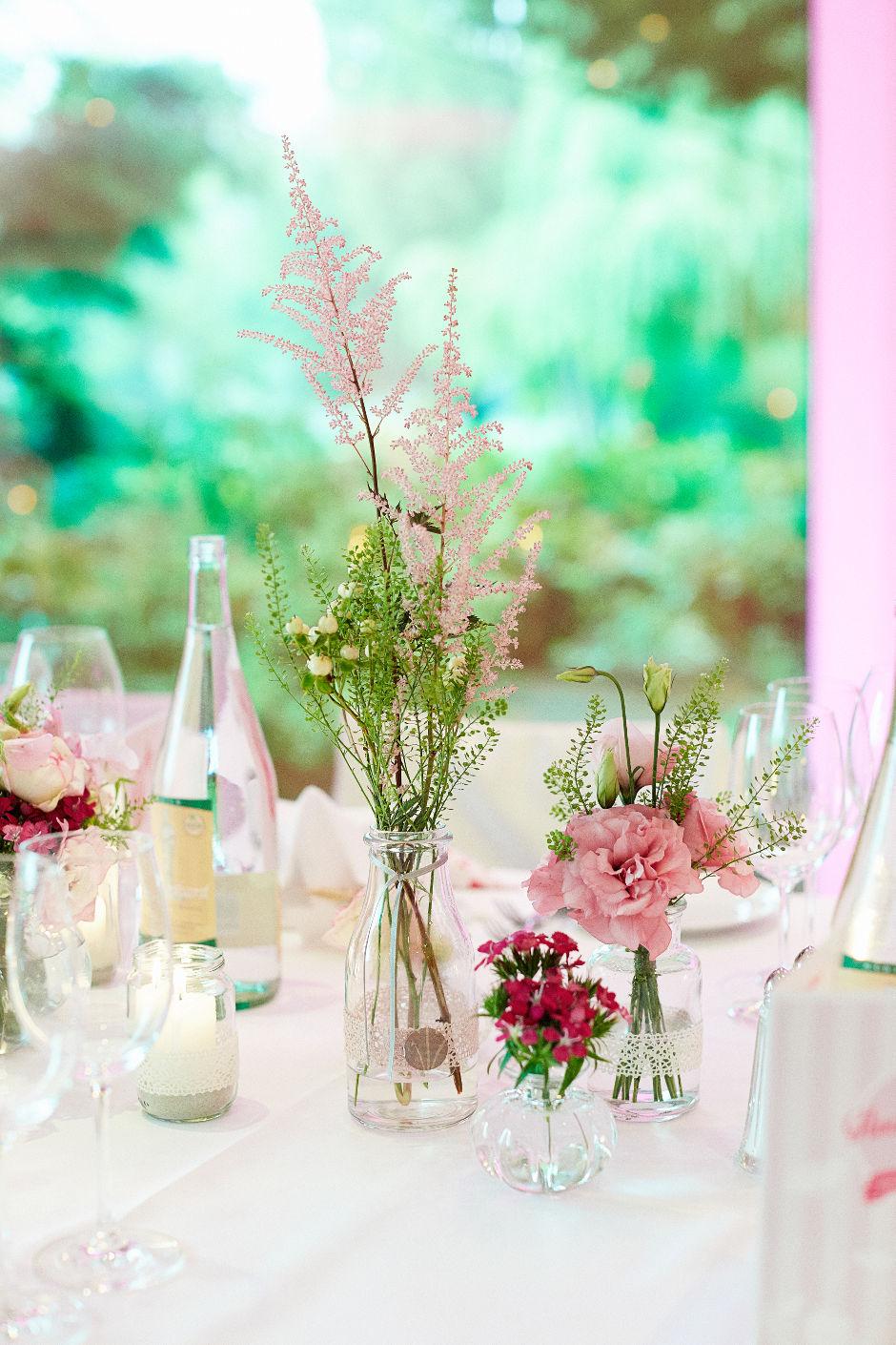 Hochzeitsblumen Pink Sonja Klein