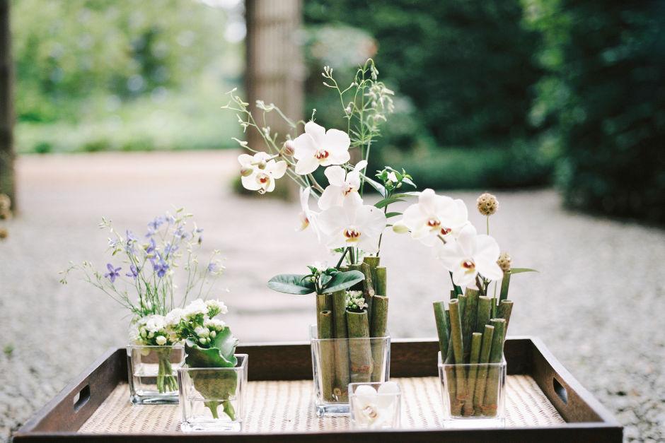 Japanische Tischdekoration Hochzeit