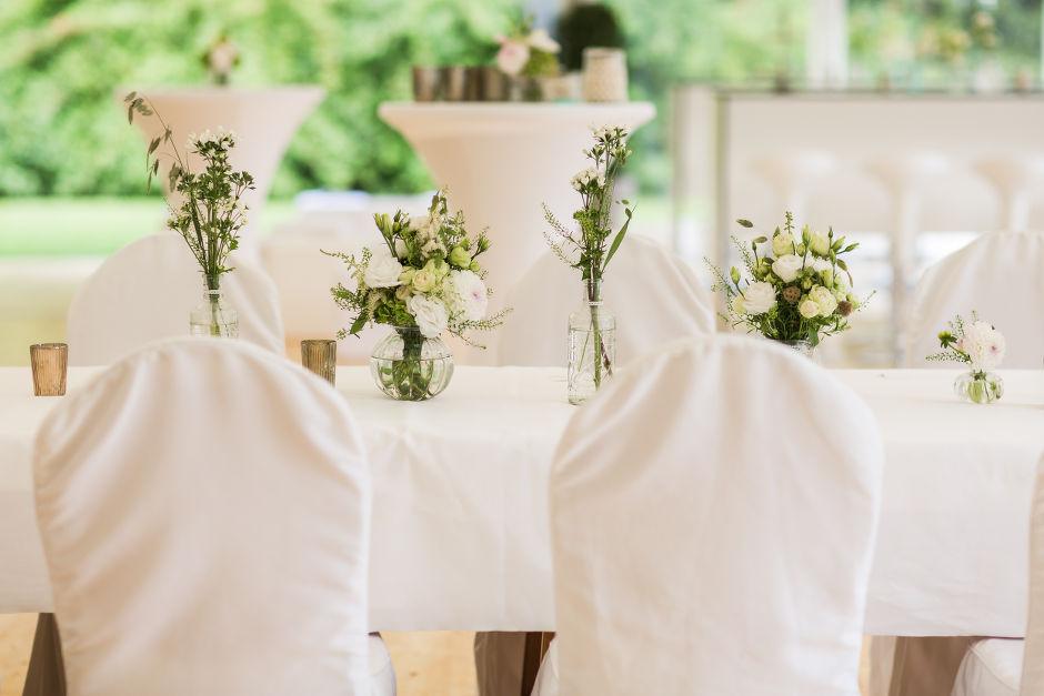 Wiesenblumen Tischdekoration Hannover