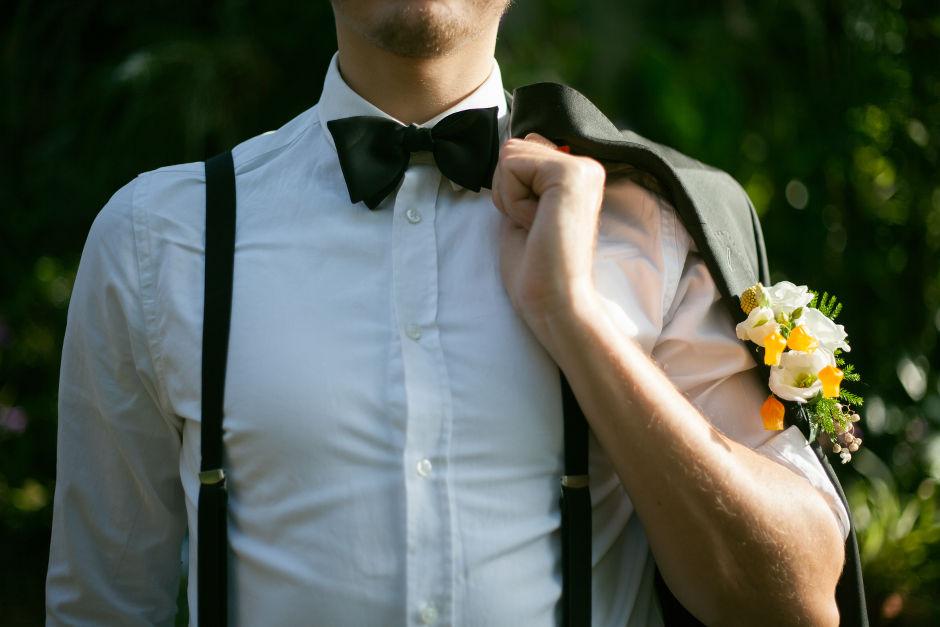 Herren Ansteckblume Hochzeit