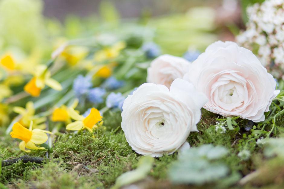 Hochzeitsstrauß Frühling Hannover